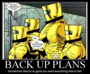 backup plan - kill everyone