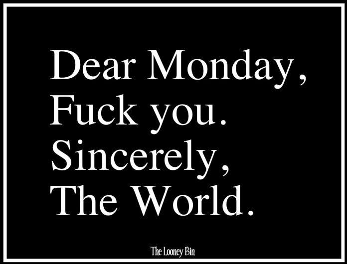 dear monday fu you