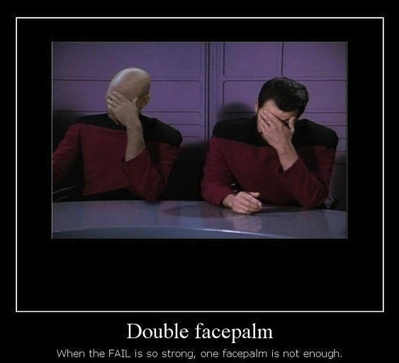 facepalm double