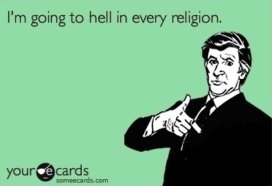going to hell in every religion