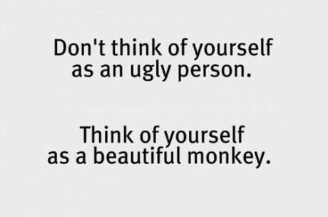 not ugly beautiful monkey